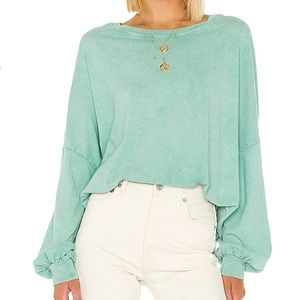 NWT FREE PEOPLE 213 Tee XS